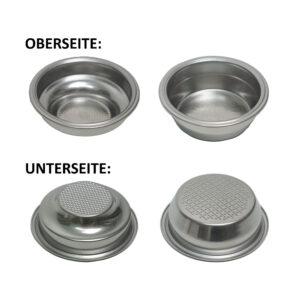 Siebeinsätze (Ø 70 mm), einwandig